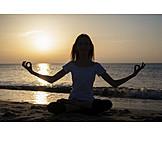Meditating, Yoga