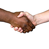 Freundschaft, Kooperation, Begegnung, Solidarität, Händedruck