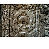 Close Up, Relief, Ta Prohm