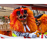 Kostüm, Fasching, Karnevalsumzug