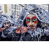Fasching, Blaskapelle, Karnevalsumzug