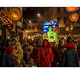 Karneval, Festumzug, Basler Fasnacht