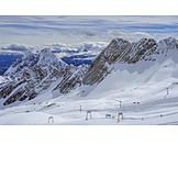 Winter, Ski Resort, Zugspitzmassiv