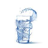 Wasser, Trinkwasser, Splash