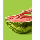 Fruit, Touching, Vagina