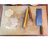 Zubereitung, Vorbereitung, Jiaozi