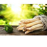 Spring, White Asparagus, Season Vegetable