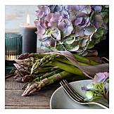 Table Decoration, Asparagus