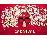 Maske, Fasching, Konfetti, Carnival