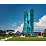 Frankfurt, European Central Bank, Ecb