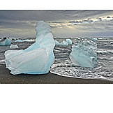 Ice, Glacier Lagoon, Jökulsarlon