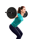 Weightlifting, Workout, Squat, Barbell