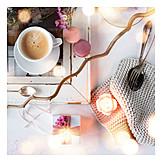 Coffee, Gift, Meringue