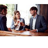 Drink, Bar Counter, Friends, Toast