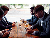 Online, Smart Phone, Colleagues