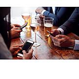 Mobile Kommunikation, Smartphone, Unsozial