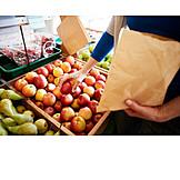 Shopping, Fruit, Paper Bag
