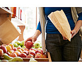 Shopping, Fruit, Organic Grocery Store
