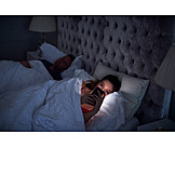 Woman, Mobile, Insomnia