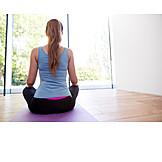 Meditating, Yoga, Meditate