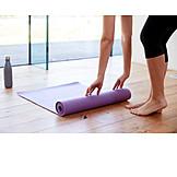 Roll, Yoga mats