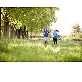 Couple, Running, Workout