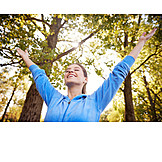 Nature, Joy, Arms Outstretched