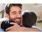 Relationship, Hug, Same-sex