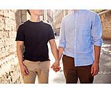 Hand Halten, Partnerschaft, Homosexuell