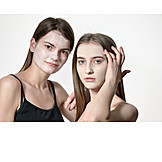 Girl, Beauty Culture, Facial Mask