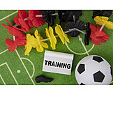 Fußball, Training