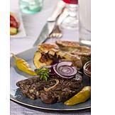 Fleischgericht, Lammfleisch