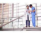 Arzt, Beratung, Krankenpfleger