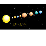 Solar System, Astronomy, Planets