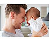 Baby, Father, Bonding