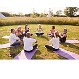 Meditation, Yoga, Festival, Yoga Retreat