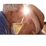 Backlighting, Kissing, Couple