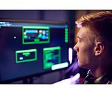 Teenager, Programmieren, Computerfreak