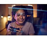 Teenager, Zocken, Computerspiel