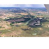 Aerial View, Botswana