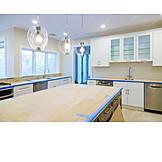 Kitchen, New Building, Interior