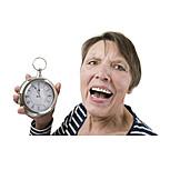 Senior, Alarm Clock, Alarm, Five To Twelve