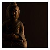 Buddhismus, Buddha, Buddhafigur