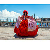 Carnival, Stage Costume, Venetian
