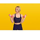 Gymnastik, Muskelaufbau, Handgewicht