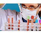 Research, Laboratory, Blood Sample