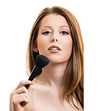 Make Up, Beauty Culture, Makeup Brush