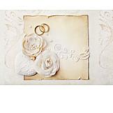 Wedding, Marriage, Invitation, Wedding Rings, Marriage Invitation