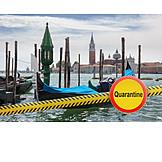 Venice, Quarantine