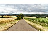 Landwirtschaft, Landstraße, Ausgangssperre